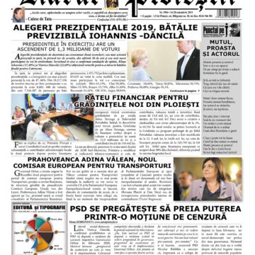 Nr. 1904 • 14 noiembrie – 20 noiembrie 2019