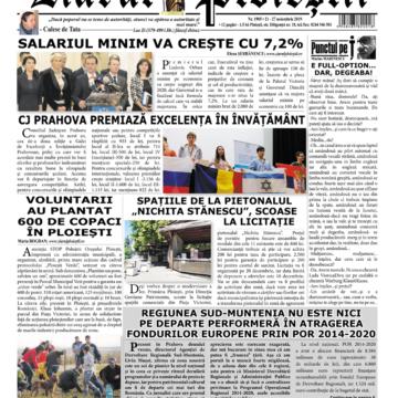Nr. 1905 • 21 noiembrie – 27 noiembrie 2019